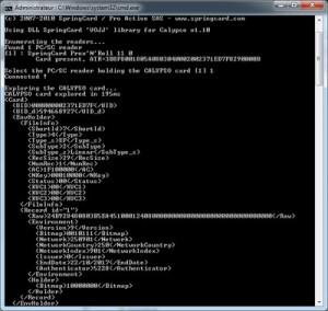 Calypso XML Dump