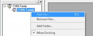 Adding Firmware to WorkSpace